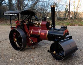 Allchin Gas Fired 3/4   Roller . Maroon.